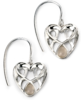 Catseye Celtic Heart Earrings