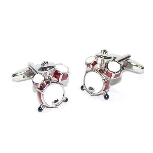 Red Drum Kit Cufflinks