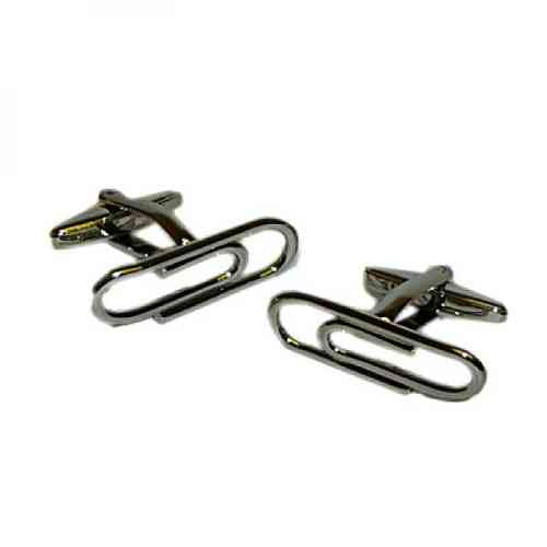 Traditional Paperclip Cufflinks