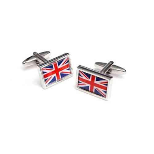 Framed Union Flag Cufflinks