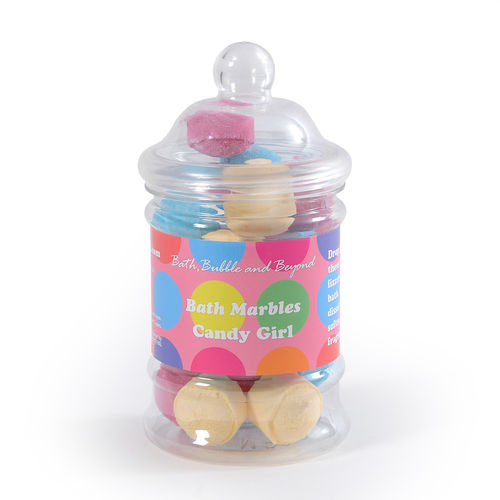 Candy Girl Bath Marble Jar