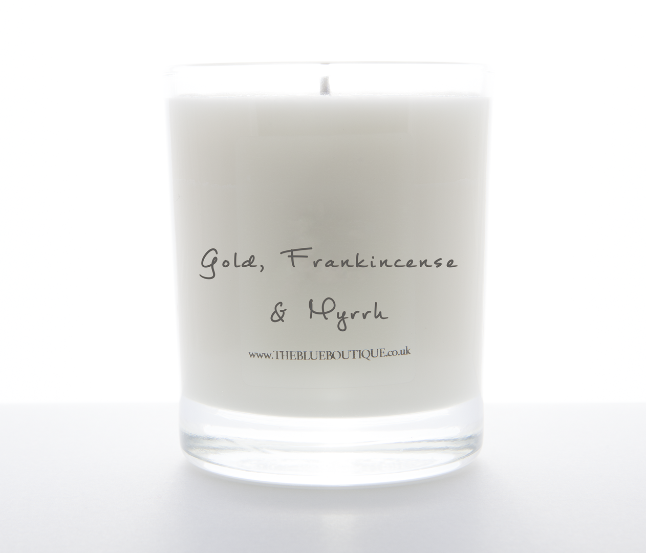 Gold Frankincense And Myrrh Candles