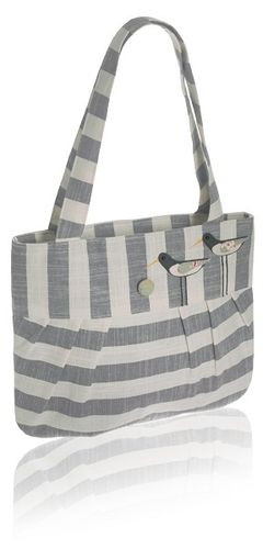Oystercatcher Tote Bag - Grey