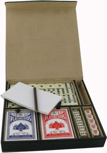 Cards, Dice and Domino Set