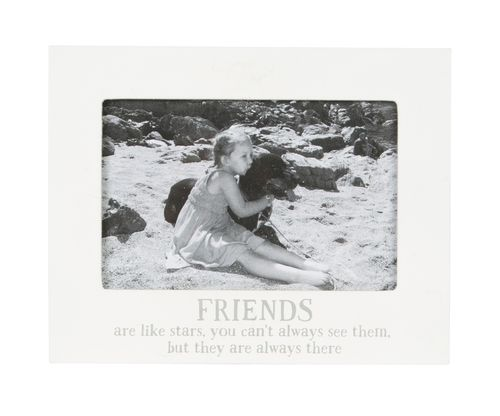 'Friends are like stars' Frame