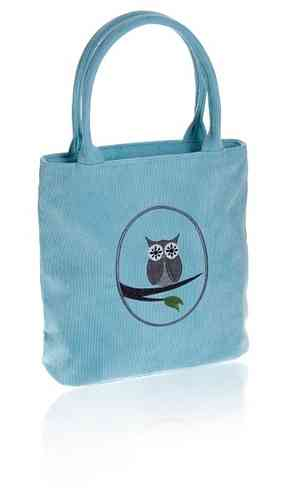Aqua Cameo Owl Grab Bag