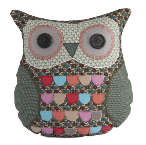 Cuthbert Owl Cushion