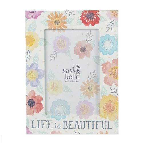 'Life Is Beautiful' Picture Frame