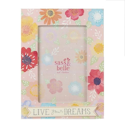 'Live Your Dreams' Picture Frame