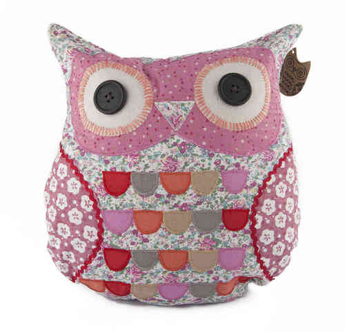 Sylvia Owl Cushion