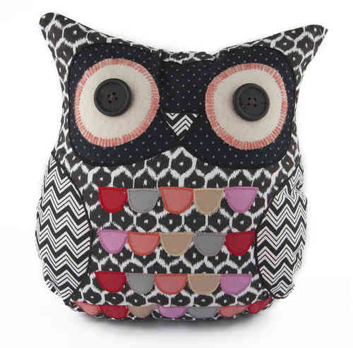 James Owl Cushion
