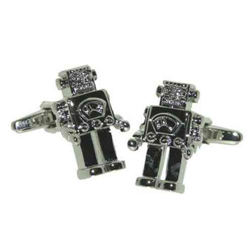 Retro Robot Cufflinks