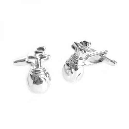 Golf Club Bag Cufflinks