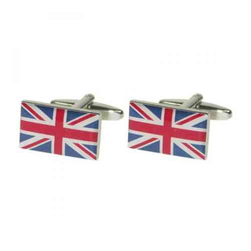 Traditional Union Jack Flag Cufflinks