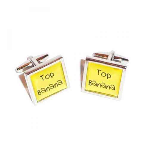 Top Banana Cufflinks