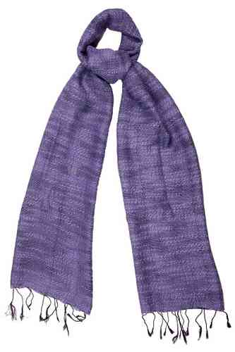 Loganberry Chunky Weave Scarf