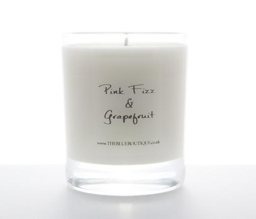 Pink Fizz and Grapefruit Candle Jar
