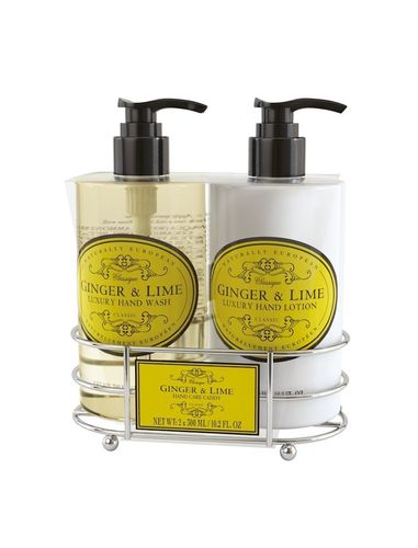 Ginger & Lime Wash & Lotion Caddy