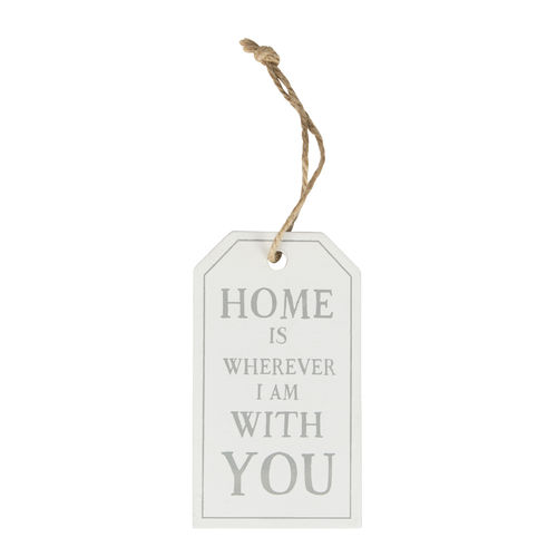 'Home is wherever I am with you' - Tag