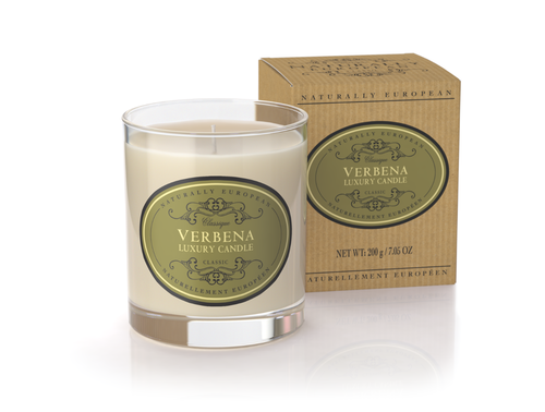 Verbena Scented Luxury Candle
