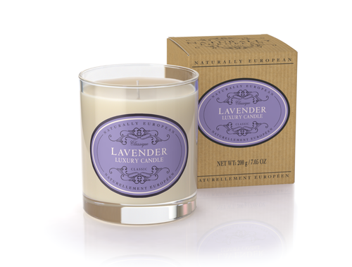 Lavender Scented Luxury Candle