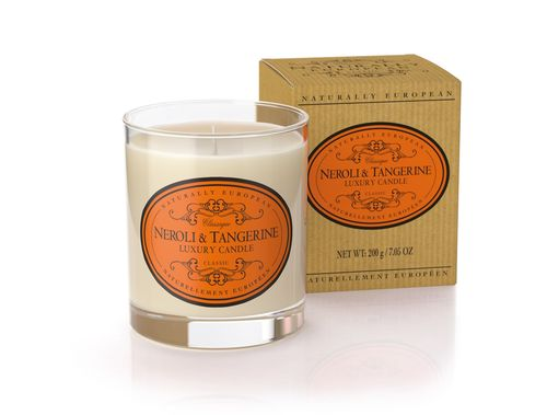 Neroli & Tangerine Scented Luxury Candle