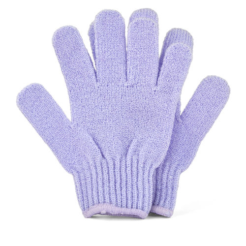 Lilac Bath & Shower Exfoliating Gloves