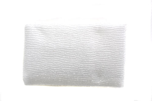 White Exfoliating Towel
