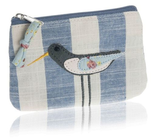 Oystercatcher Coin Purse - Blue