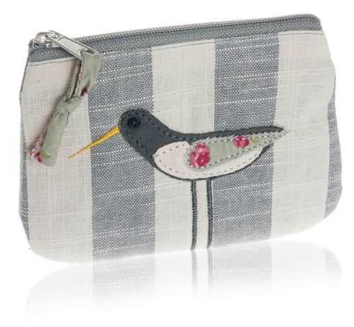 Oystercatcher Coin Purse - Grey