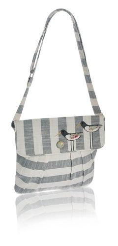 Oystercatcher Messenger Bag - Grey