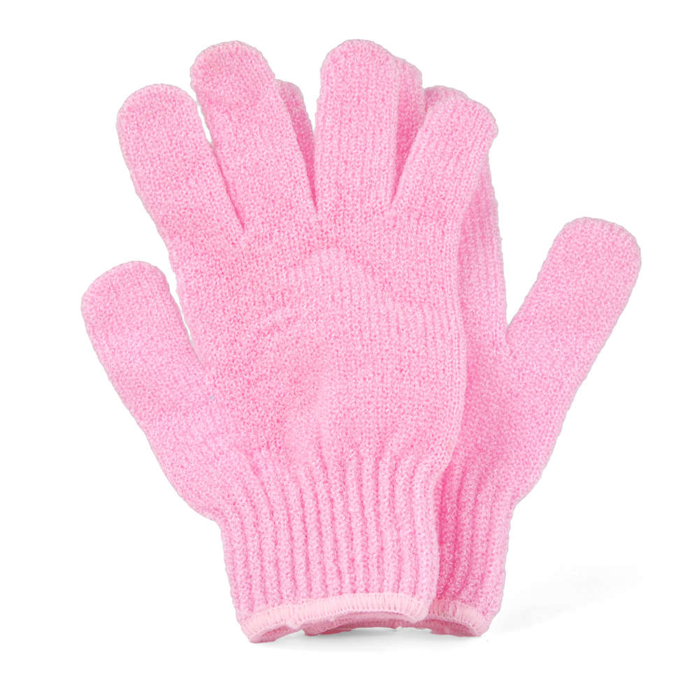 Image result for pink exfoliating gloves