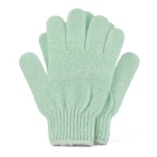 Green Bath & Shower Exfoliating Gloves