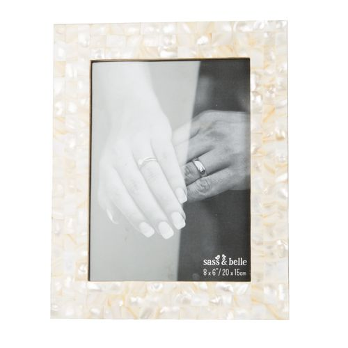 Mother of Pearl Frame - Medium