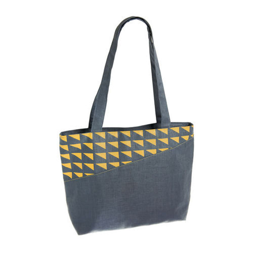 Dark Slate Tote Bag