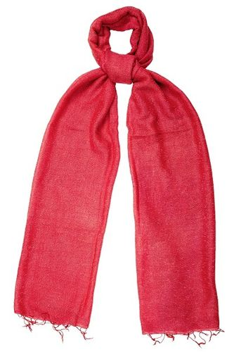 Poppy Red Speckled Scarf